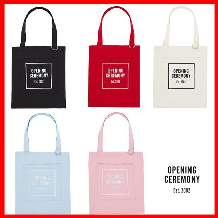 Try OPENING CEREMONY OC logo tote bag 5 types