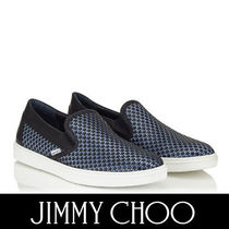 Jimmy Choo Star Plain Toe Street Style Bi-color Leather