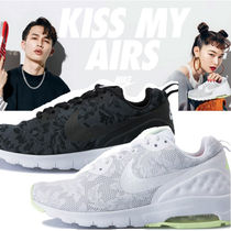 Nike AIR MAX Flower Patterns Casual Style Unisex Street Style