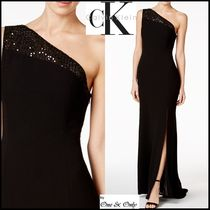 Calvin Klein Maxi Sleeveless Plain Long Party Dresses