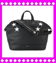 GIVENCHY NIGHTINGALE Star A4 2WAY Leather Totes