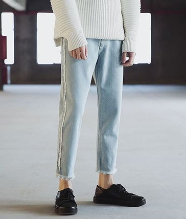 Light Blue Casual Jeans