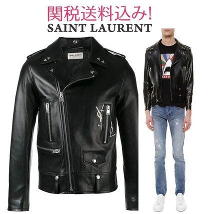 Classic YSL leather jacket