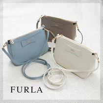 FURLA Saffiano Plain Shoulder Bags