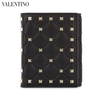 VALENTINO Collaboration Leather Folding Wallets