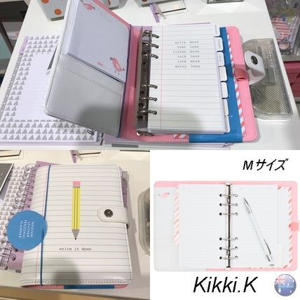 Kikki.K/m size and leather multipurpose Organizer /Letters