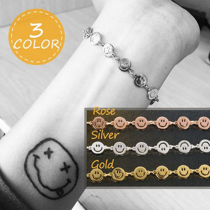 Costume Jewelry Casual Style Chain Bracelets