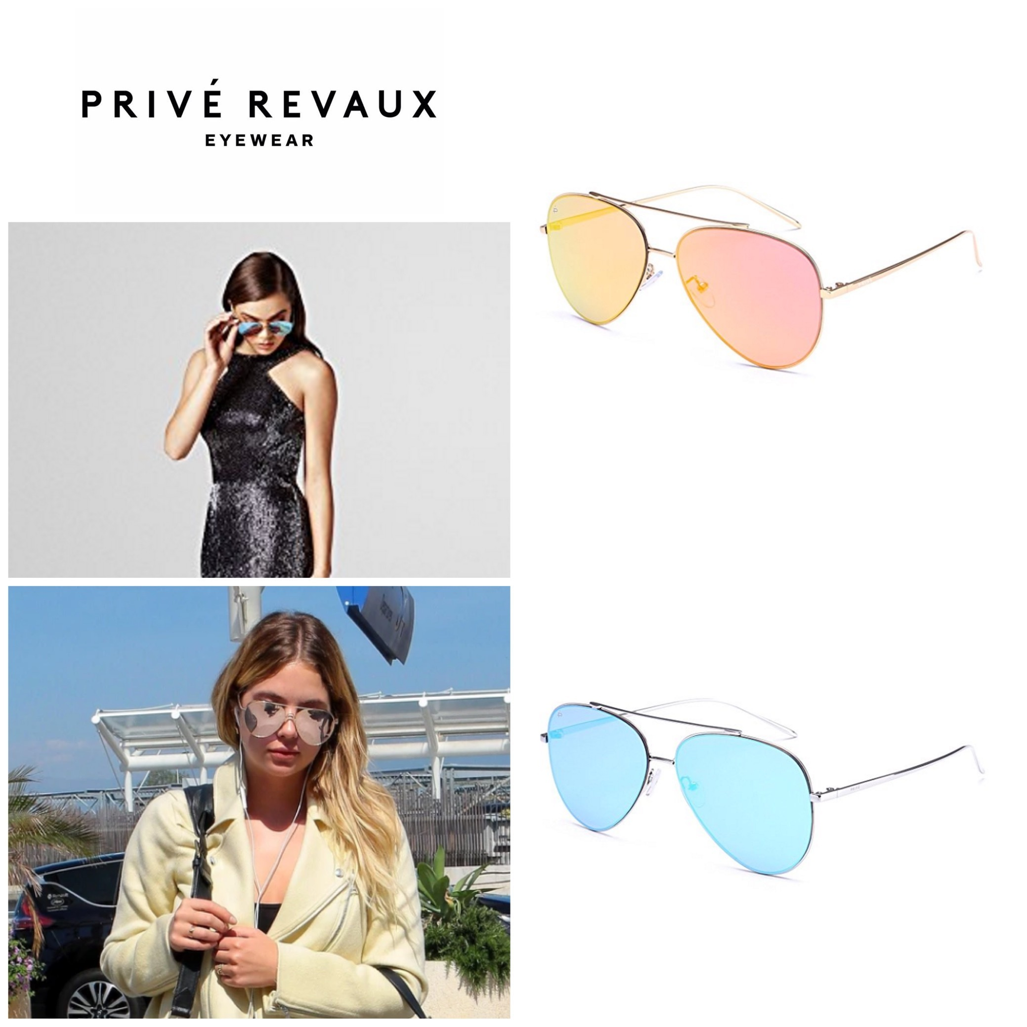 shop prive revaux accessories