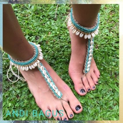 Open Toe Casual Style Plain Handmade Sandals