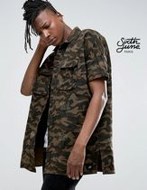Sixth June Camouflage Street Style Short Sleeves Shirts