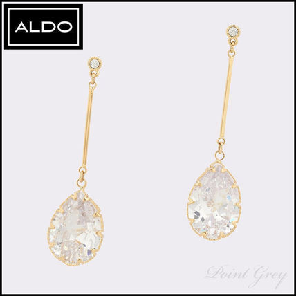 Costume Jewelry With Jewels Elegant Style Drop Earrings