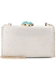 KAYU Casual Style With Jewels Straw Bags