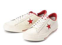 CONVERSE ONE STAR Star Rubber Sole Casual Style Unisex Street Style Plain