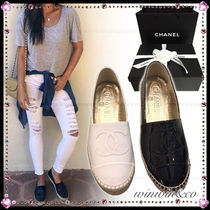 CHANEL Casual Style Plain Flats