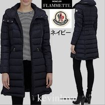MONCLER FLAMMETTE Plain Long Elegant Style Down Jackets