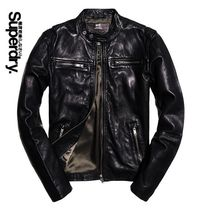 Superdry Leather Biker Jackets