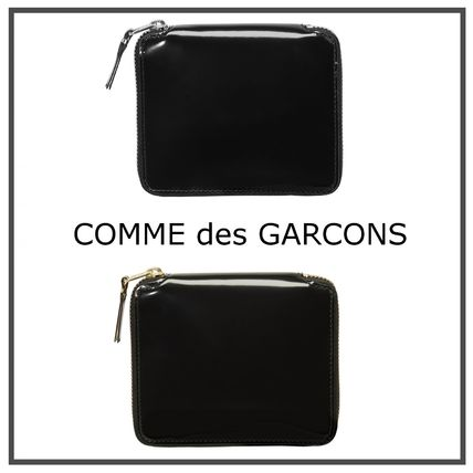 COMME des GARCONS CDG 2 a bifold wallet Mirror Inside