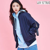 LUV IS TRUE Bomber Jackets