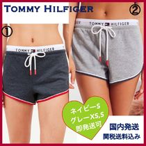 Tommy Hilfiger Short Casual Style Plain Cotton Denim & Cotton Shorts