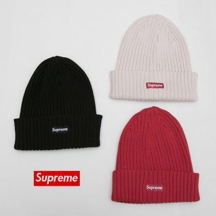 17SS OVERDYED RIBBED BEANIE CAP BOX LOGO