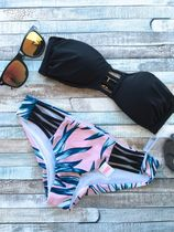 Victoria's secret Tropical Patterns Halter Bikinis