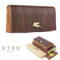 ETRO Paisley Long Wallets