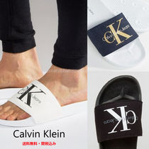 Calvin Klein Street Style Plain Shower Shoes Sports Sandals
