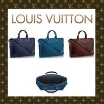 Louis Vuitton EPI A4 2WAY Plain Leather Business & Briefcases