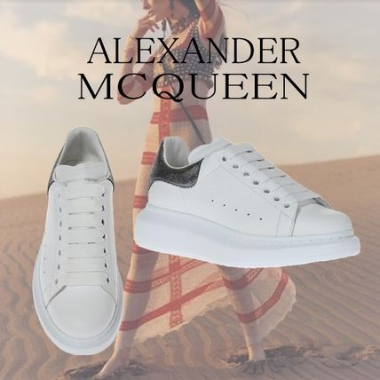 ALEXANDER MCQUEEN Leather Sneaker White