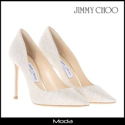 Romy 100 heel pumps