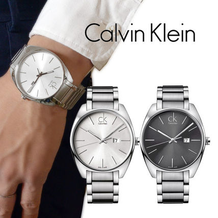Men ' s watches Exchange Silver Bracelet