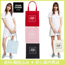 OPENING CEREMONY Casual Style Cambus Totes