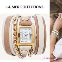 LA MER COLLECTIONS Leather Analog Watches