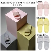 KNYEW Street Style Shower Shoes Shower Sandals