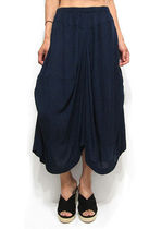 Plain Long Culottes & Gaucho Pants