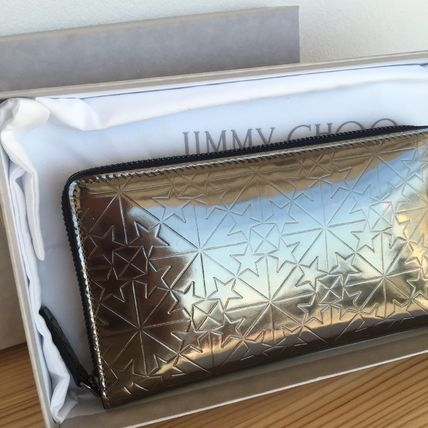 JimmyChoo graphic star long wallet CARNABY