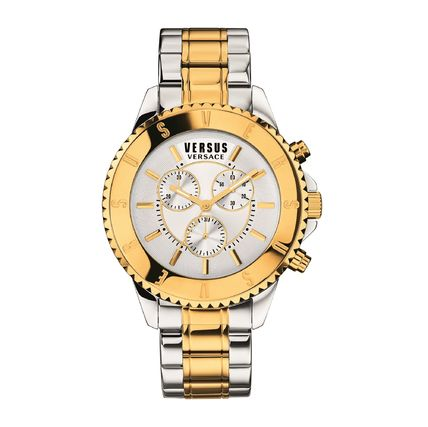 And VERSUS VERSACE stainless steel watches