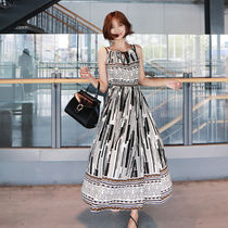 Casual Style A-line Long Dresses