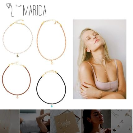 MARIDA Necklaces & Pendants Leather 14K Gold Necklaces & Pendants