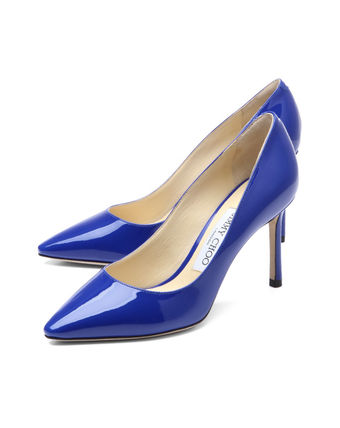 Pointed toe pumps Blue ROMY