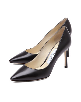 JIMMY CHOO pointed toe pumps black ROMY