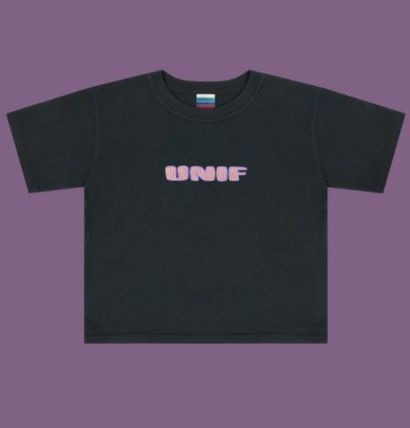 Cute UNIF sold out certain popular NEBULA BABY TEE