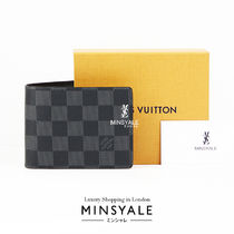 Louis Vuitton MULTIPLE WALLET Graphite [London department store new item]