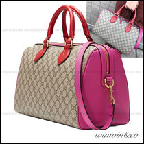 GUCCI Monoglam Cambus 2WAY Elegant Style Boston & Duffles