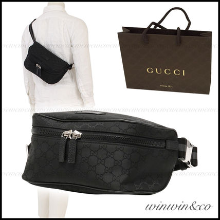 GUCCI Monoglam Nylon Hip Packs