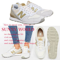 New Balance 996 Lace-up Casual Style Street Style Leather Low-Top Sneakers