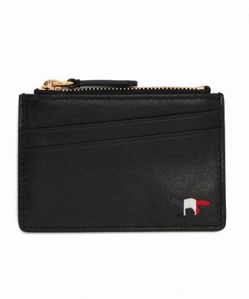 Immediate Delivery 17SS TRICOLOR ZIPPED CARD HOLDER