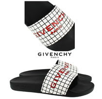 GIVENCHY Other Check Patterns Shower Shoes Flat Sandals