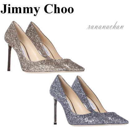 Romy glitter pumps 100 mm
