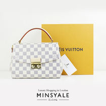 Louis Vuitton DAMIER AZUR CROISETTE  Damier Azur  [London department store new item]